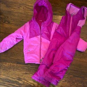 Kids  Reversible Columbia snow suit size 4t
